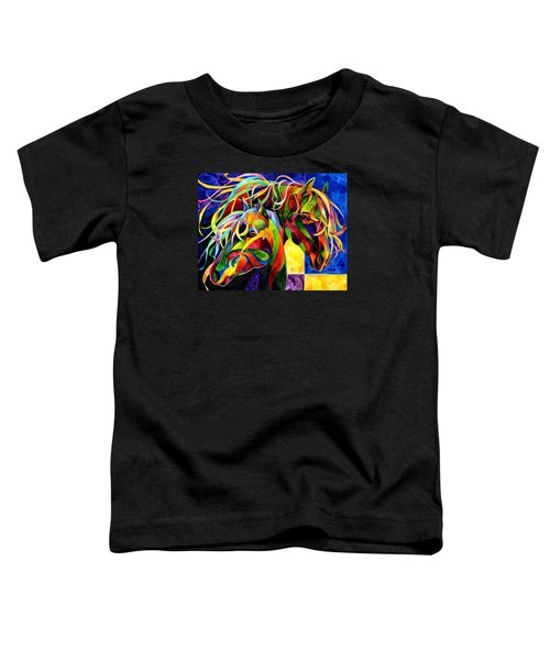 Horse Hues Toddler T-Shirt