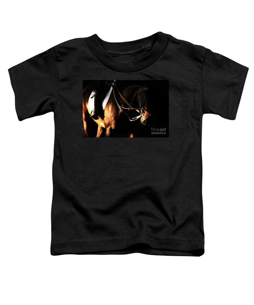 Horse In The Shade Toddler T-Shirt