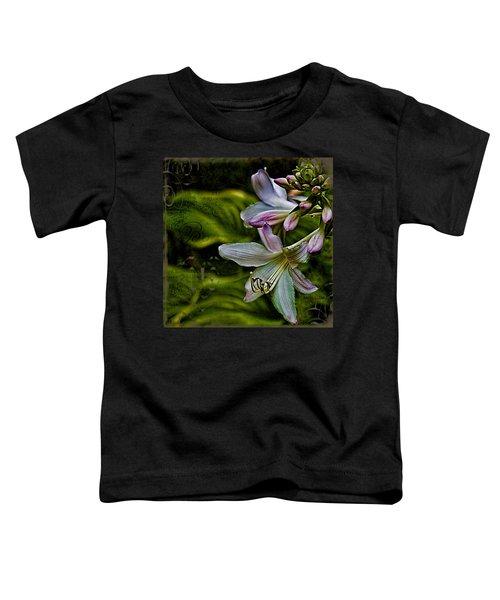 Hosta Lilies With Texture Toddler T-Shirt