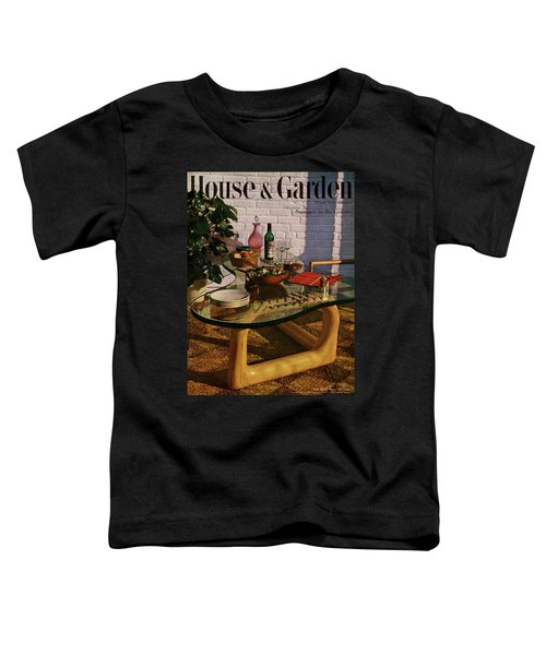 House And Garden Cover Featuring Brunch Toddler T-Shirt
