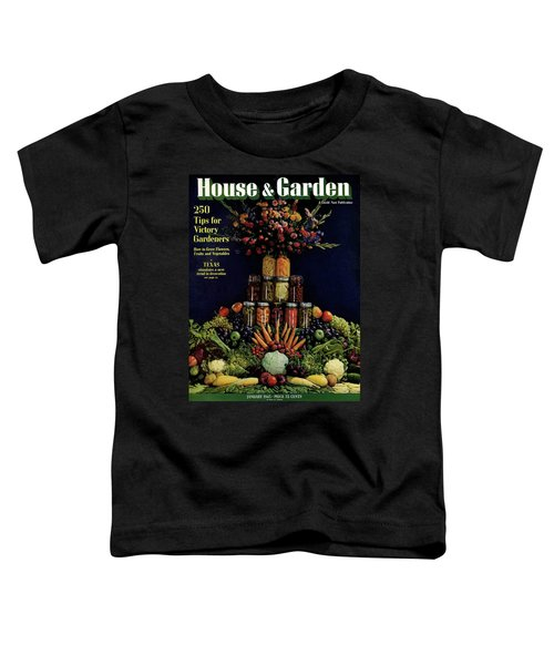 House And Garden Cover Featuring Fruit Toddler T-Shirt