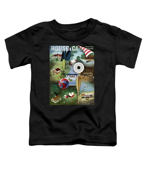 House And Garden Summer Camps And Cottages Cover Toddler T-Shirt