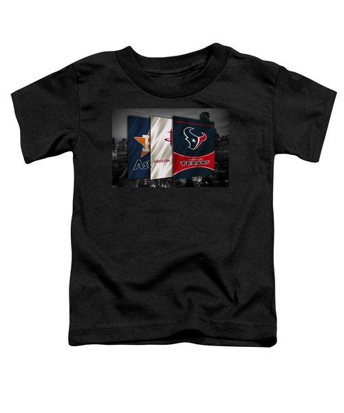 Houston Sports Teams Toddler T-Shirt