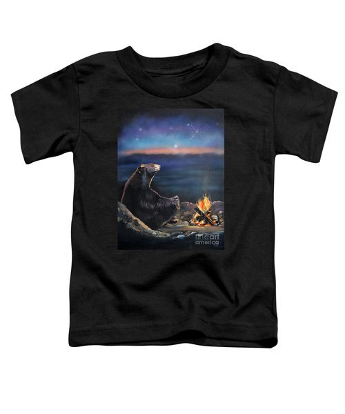 How Grandfather Bear Created The Stars Toddler T-Shirt