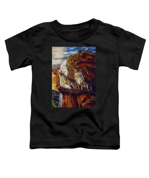 Howling For The Nightlife  Toddler T-Shirt