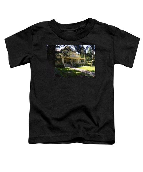 Hudson House At Beringer Winery St Helena Napa California Dsc1715 Toddler T-Shirt