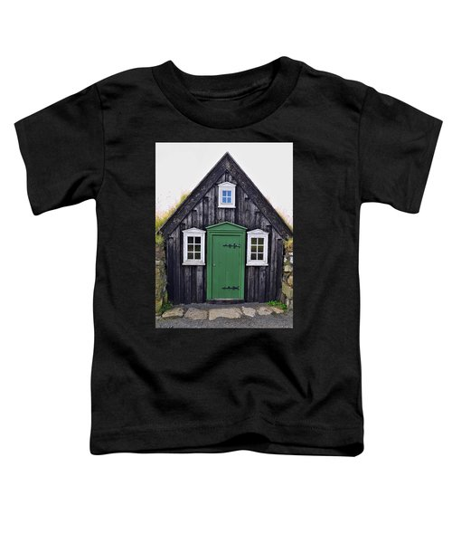 Icelandic Old House Toddler T-Shirt