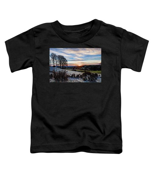 Icy Sunset Toddler T-Shirt
