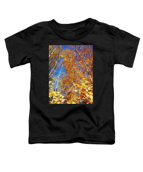 In The Forest At Fall Toddler T-Shirt