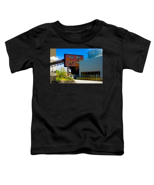 Industrial Power Plant Architectural Landscape Toddler T-Shirt