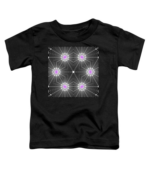 Infinity Grid Six Toddler T-Shirt