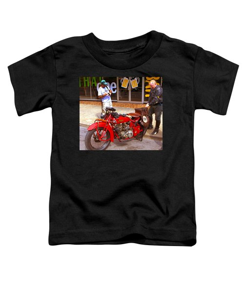 Inspecting Indian #70 Toddler T-Shirt