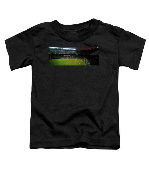 Interiors Of A Stadium, Yankee Stadium Toddler T-Shirt