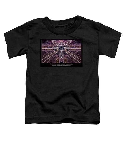 Into The World Toddler T-Shirt