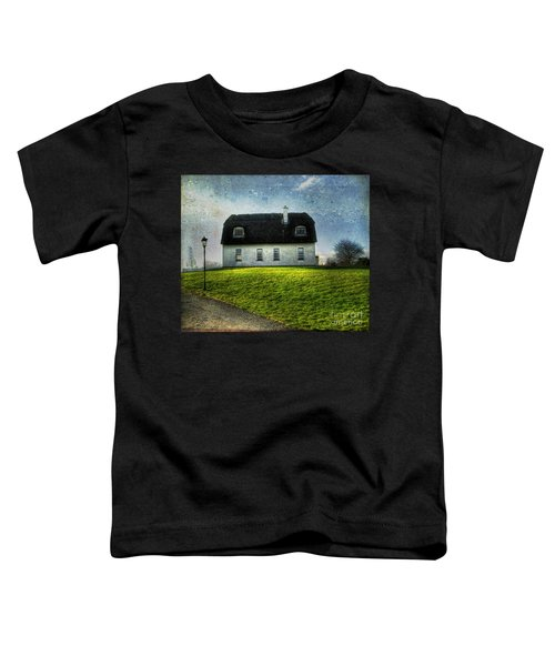 Irish Thatched Roofed Home Toddler T-Shirt