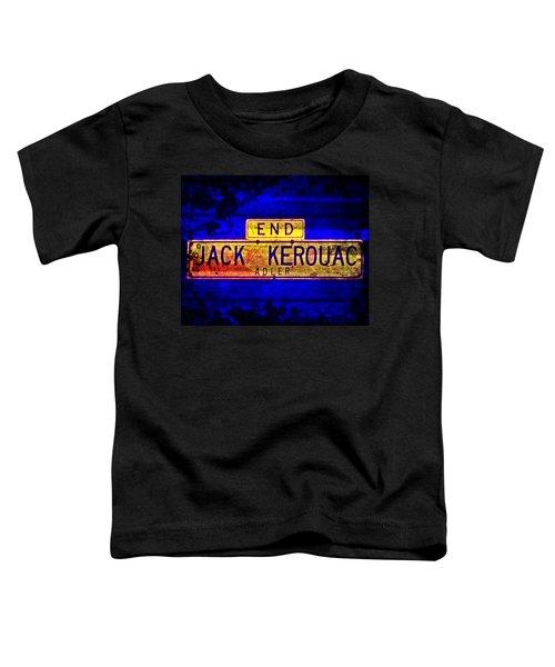 Jack Kerouac Alley Toddler T-Shirt