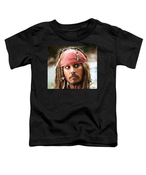 Jack Sparrow Toddler T-Shirt