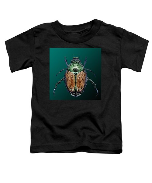 Japanese Beetle Bedazzled II Toddler T-Shirt