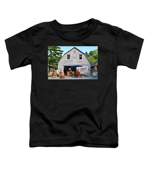 The Old Barn At Jaynes Reliable Antiques And Vintage Toddler T-Shirt