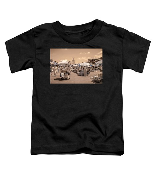 Jemaa El Fna Market In Marrakech Toddler T-Shirt
