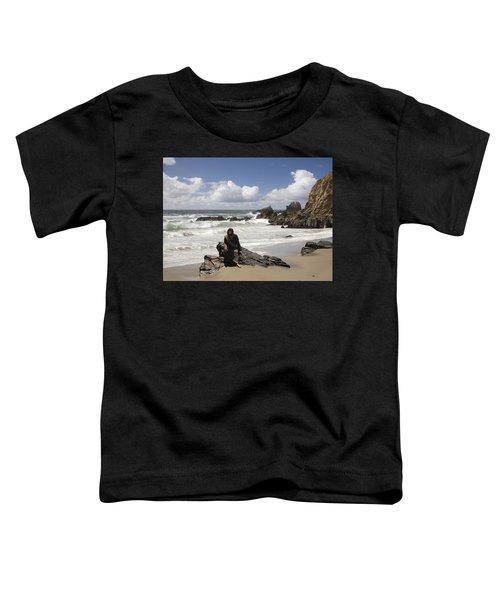 Jesus Christ- Make Time For Me I Miss You Toddler T-Shirt