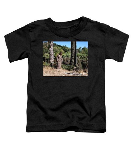 Jesus- Walk With Me Toddler T-Shirt