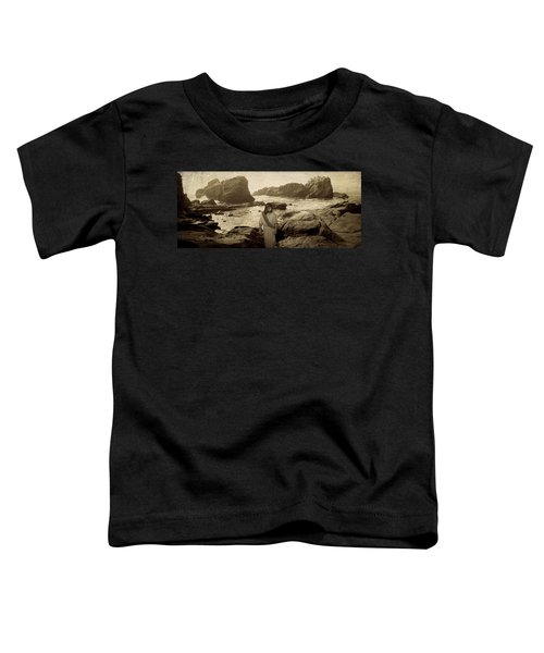 Jesus Walks Among Angels Toddler T-Shirt