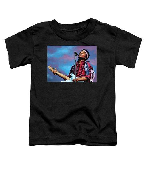 Jimi Hendrix 2 Toddler T-Shirt
