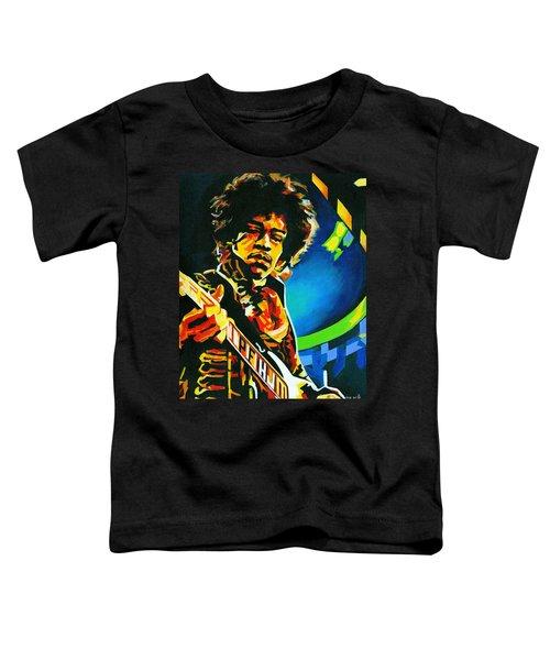 Bold As Love. Jimi Hendrix  Toddler T-Shirt