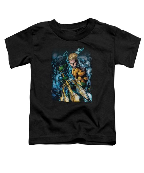 Jla - Aquaman #1 Toddler T-Shirt