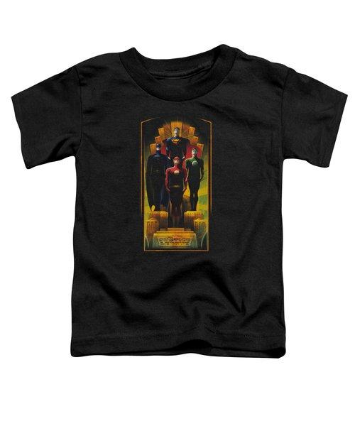 Jla - Deco Toddler T-Shirt