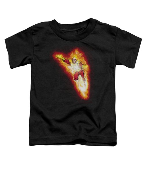 Jla - Firestorm Blaze Toddler T-Shirt