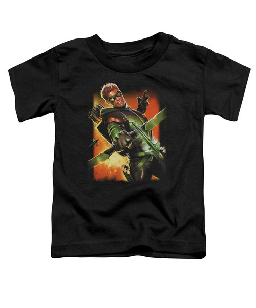 Jla - Green Arrow #1 Toddler T-Shirt