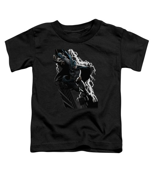 Jla - Lighting Crashes Toddler T-Shirt