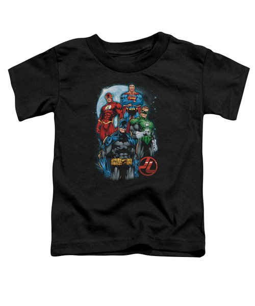 Jla - The Four Toddler T-Shirt