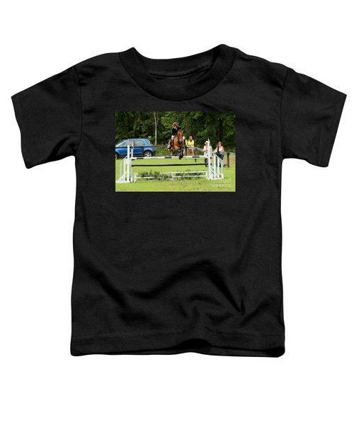 Jumping Eventer Toddler T-Shirt