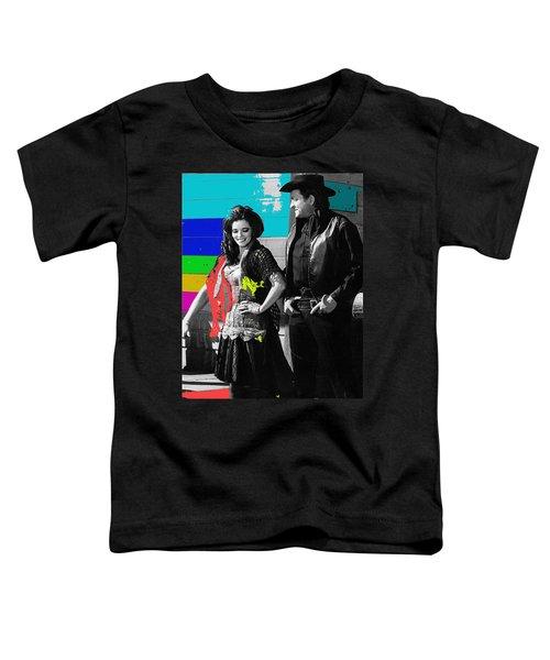 June Carter Cash Johnny Cash In Costume Old Tucson Az 1971-2008 Toddler T-Shirt