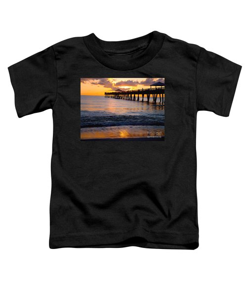Juno Beach Pier Toddler T-Shirt