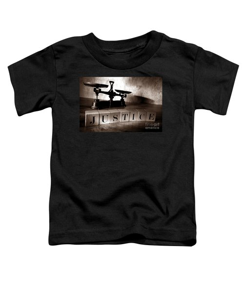 Justice Toddler T-Shirt
