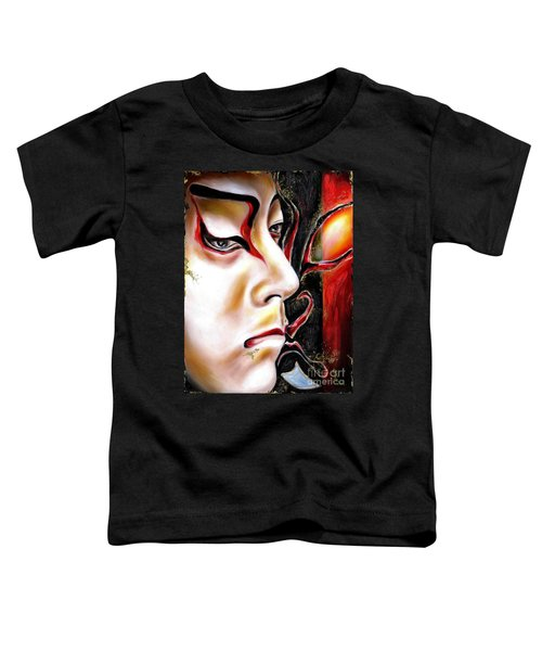Kabuki Three Toddler T-Shirt