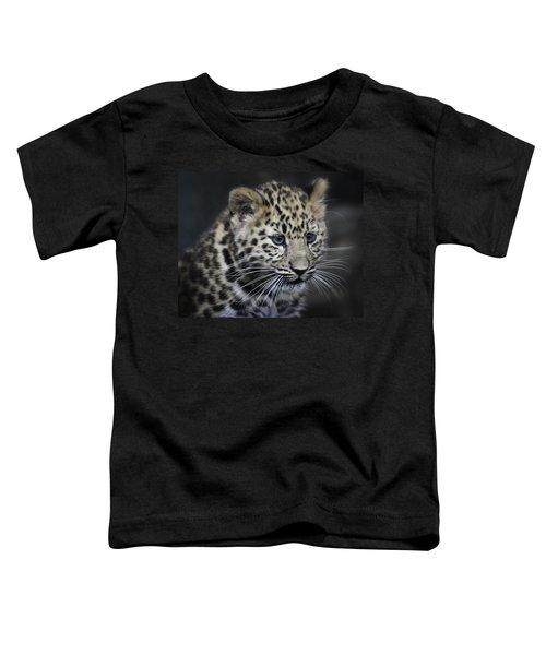 Kanika - Amur Leopard Portrait Toddler T-Shirt