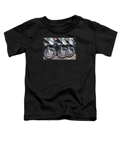 King County Police Motorcycle Toddler T-Shirt