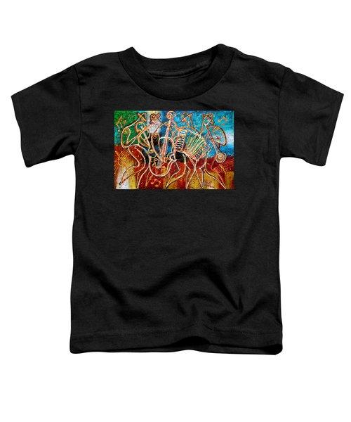 Klezmer Music Band Toddler T-Shirt