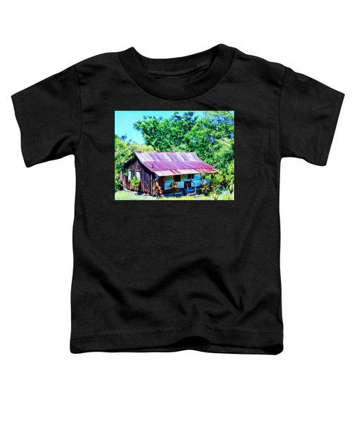 Kona Coffee Shack Toddler T-Shirt