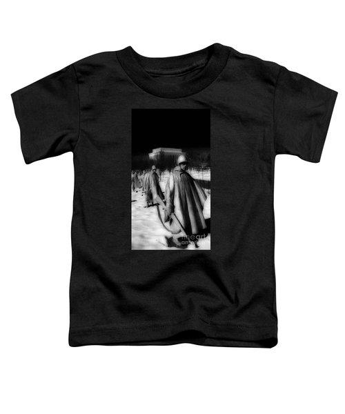 Korean Memorial Toddler T-Shirt by Skip Willits