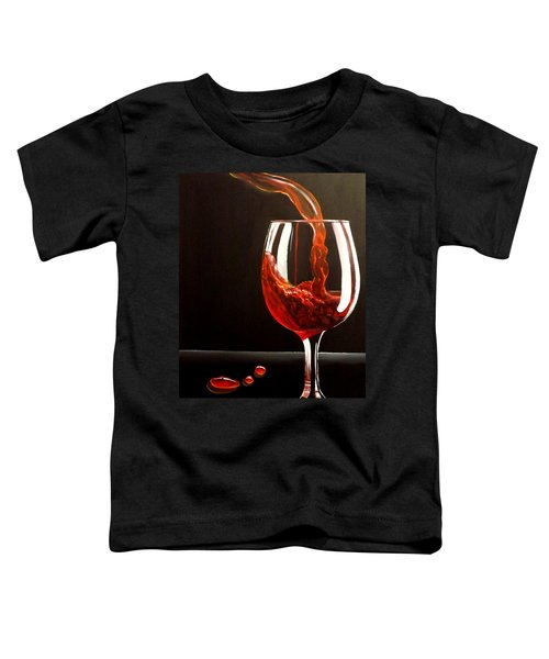 Lady In Red Toddler T-Shirt