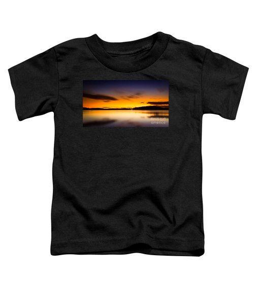 Lake Lanier Sunrise Toddler T-Shirt