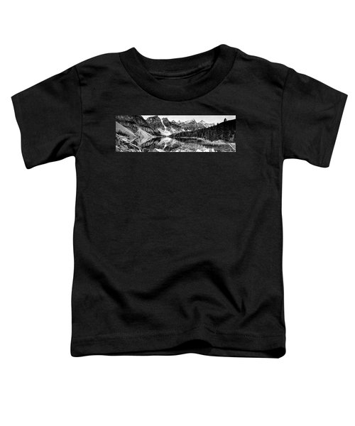 Lake Moraine Reflection Toddler T-Shirt