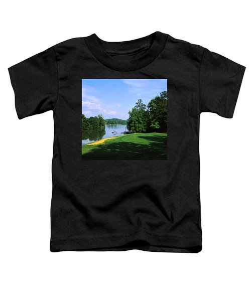 Lake On A Golf Course, Legend Course Toddler T-Shirt