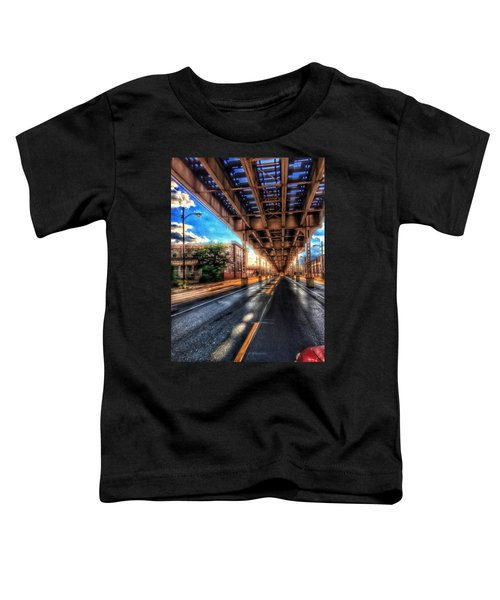 Lake Street El Tracks Toddler T-Shirt